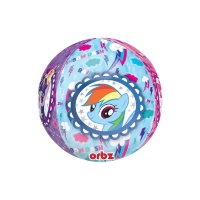 Globo orbz de My Little Pony - 38 x 40 cm