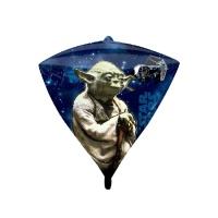 Globo orbz diamante de Star Wars de 38 x 43 cm - Anagram