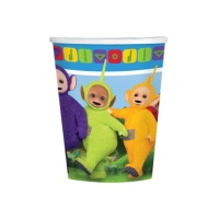 Vasos de Teletubbies de 266 ml - 8 unidades