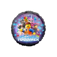 Globo redondo de Lego Movie 2 - 43 cm