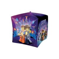Globo orbz cubo de Lego Movie 2 - 38 x 38 cm