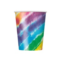 Vasos Hippies de 266 ml - 8 unidades