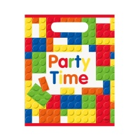 Bolsas de Lego party time - 8 unidades