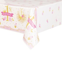 Mantel de Pink and Gold - 1,37 x 2,13 m