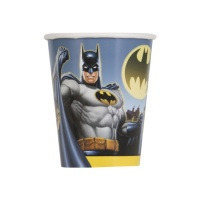 Vasos de Batman de 266 ml - 8 unidades
