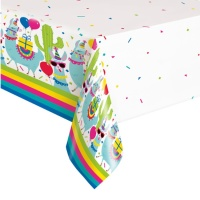 Mantel de Llamas Party - 1,37 x 2,13 m
