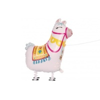 Globo caminante de Llamas Party de 73,6 cm - Qualatex