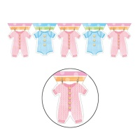 Guirnalda Baby Clothing - 3,70 m