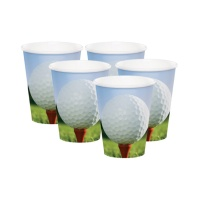 Vasos de Golf de 266 ml - 8 unidades