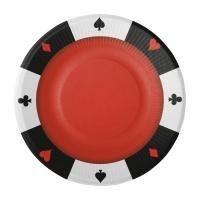Decoración De Casino Para Fiestas Y Cumpleaños