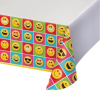 Mantel de Emoticonos - 1,37 x 2,59 m
