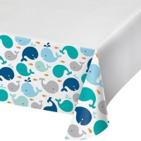 Mantel de Little Whale - 1,37 x 2,59 m