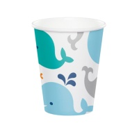 Vasos de Little Whale de 266 ml - 8 unidades