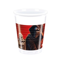 Vasos de Star Wars de 200 ml - 8 unidades