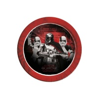 Platos de Star Wars The Last Jedi de 23 cm - 8 unidades