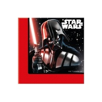 Servilletas de Star Wars Darth Vader de 33 x 33 cm - 20 unidades