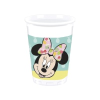 Vasos de Minnie tropical de 200 ml - 8 unidades