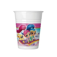 Vasos de Shimmer and Shine de 200 ml - 8 unidades