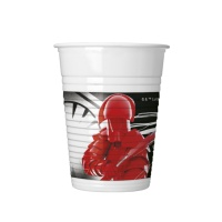 Vasos de Star Wars The Last Jedi de 200 ml - 8 unidades