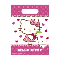 Bolsas de Hello Kitty - 6 unidades