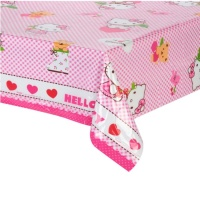 Mantel de Hello Kitty - 1,20 x 1,80 m