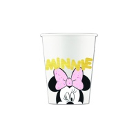 Vasos de Minnie Diamantes de 200 ml - 8 unidades