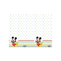 Mantel de Mickey Rainbow - 1,20 x 1,80 m