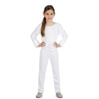 Maillot de color blanco infantil