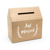 Caja de deseos Just Married -  30 x 30,5 x 16,5 cm