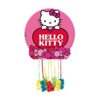 Piñata de Hello Kitty rosa - 43 x 43 cm