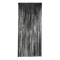 Cortina decorativa negra - 1,00 x 2,40 m