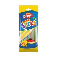 Regaliz multicolor relleno con pica pica - Fini sour pencils - 100 g