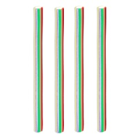 Regaliz multicolor relleno - Fini rainbow pencils - 100 g