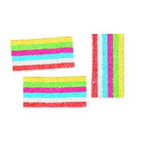 Lenguas multicolor en trozos con pica pica - Fini chips 6 - 180 g