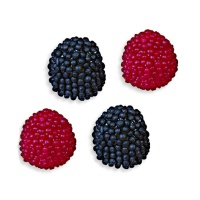 Moras negras y rojas - Fini jelly berries - 180 g