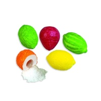 Chicles con forma de frutas - Fini Bubble gum fruits - 100 g