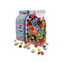 Grajeas de chocolate con leche multicolor - 1 kg