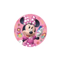 Disco de azúcar de Minnie - 16 cm