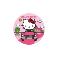 Papel de azúcar de Hello Kitty - 16 cm