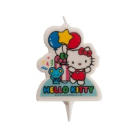 Vela decorativa de Hello Kitty de 7 cm - 1 unidad