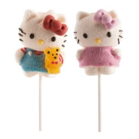 Brocheta de nube Hello Kitty vestido rosa de 45 g