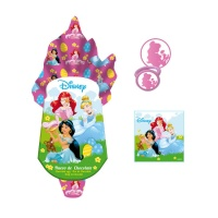 Huevo de chocolate con regalos de Princesas Disney - 120 g
