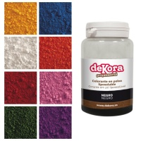 Colorante en polvo liposoluble de 25 g - Dekora