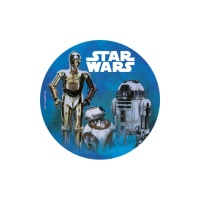 Oblea comestible de Star Wars - 20 cm