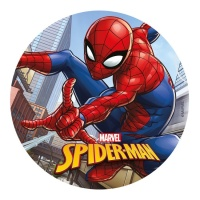 Oblea comestible de Spiderman - 20 cm