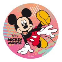 Oblea comestible de Mickey Mouse - 20 cm