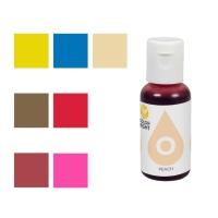 Colorante alimentario liposoluble concentrado de 19 ml - Wilton