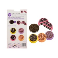 Molde para chocolate y galletas oreo de animal - Wilton