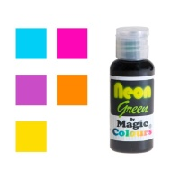 Colorante en gel de colores con efecto neon de 32 g - Magic Colours