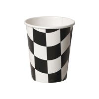 Vasos de Racing de 266 ml - 8 unidades